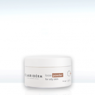 Clariderm Loose Powder for Oily Skin